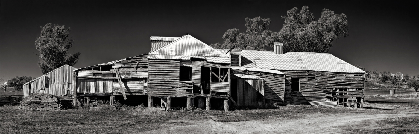 Rustic buildings in australia prints for sale