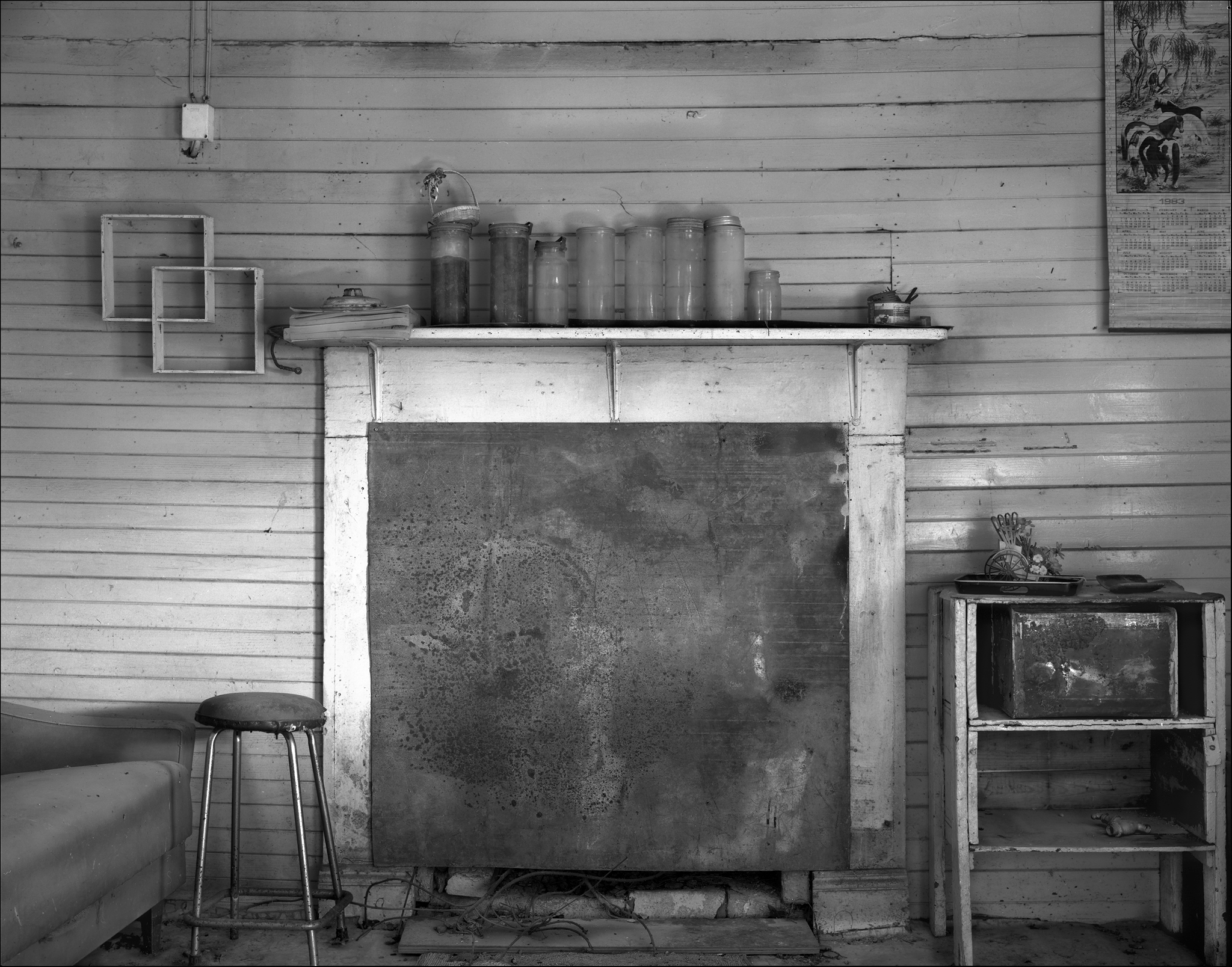 Cashen's Hut project fireplace